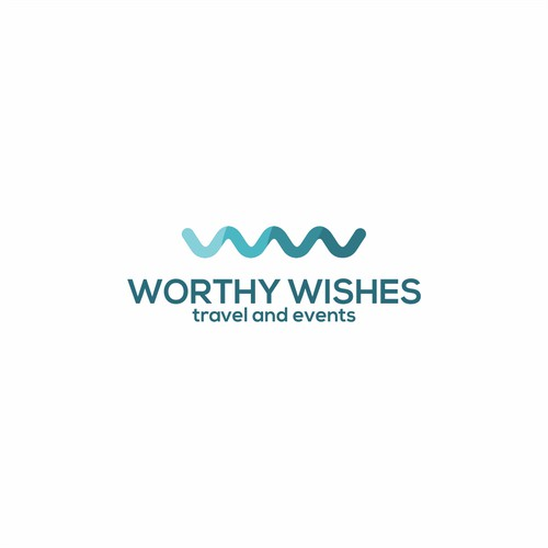 logo for worthy wishes