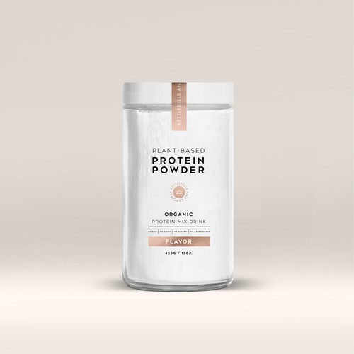 ORGANIC PROTEIN MIX JAR PACKAGING