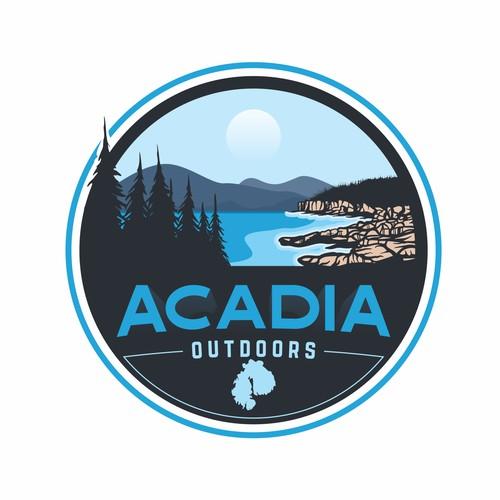 ACADIA outdoors store logo