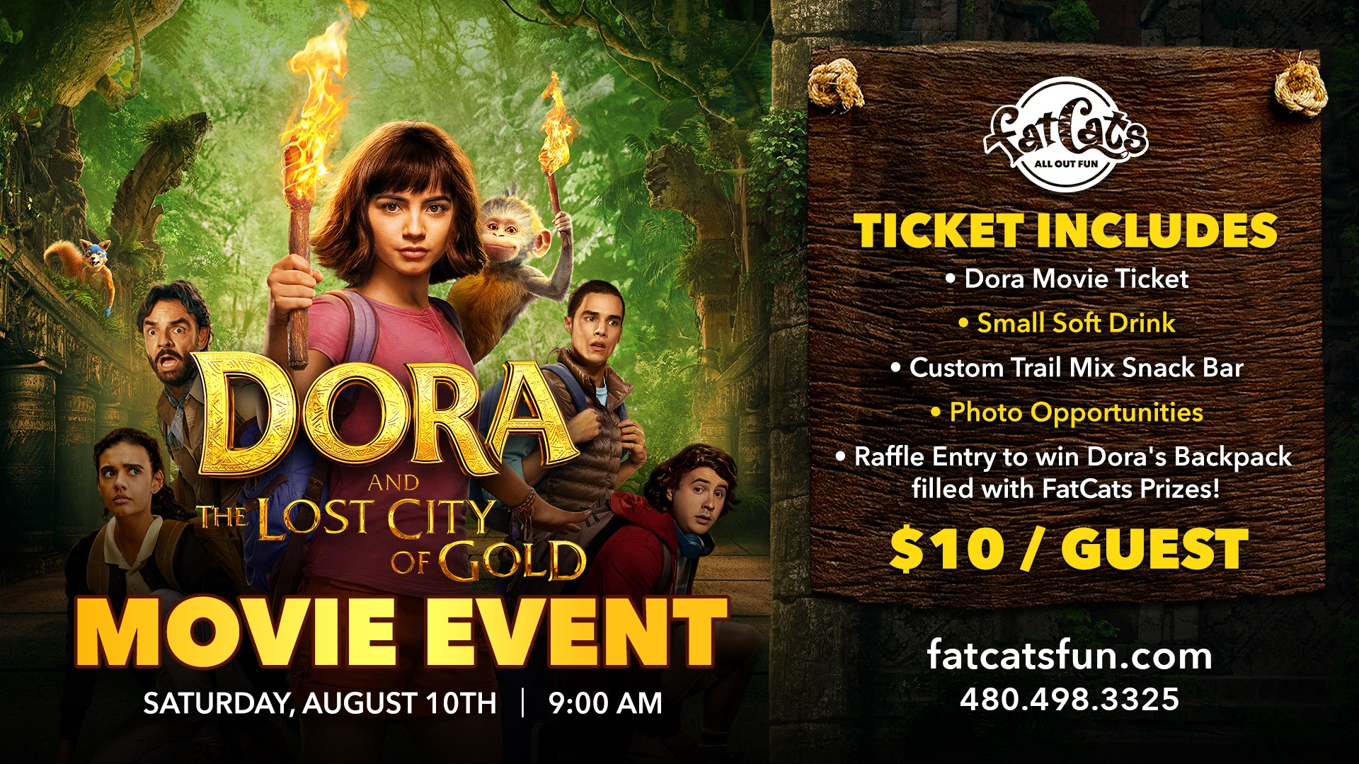Dora Lost City of Gold Movie Event Poster