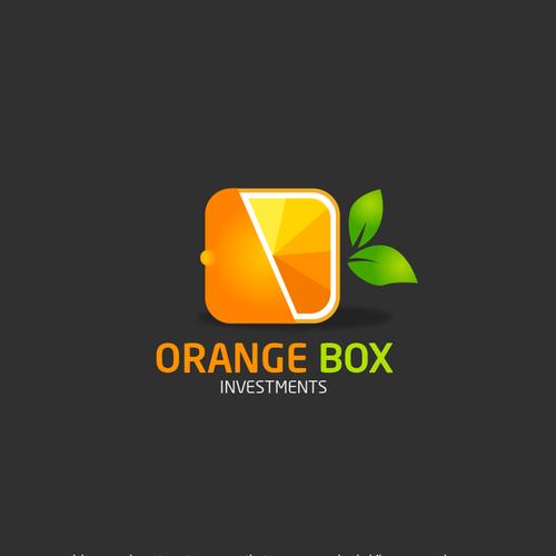 Creative logo cpncept- Orange Box