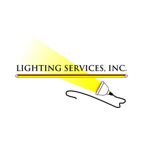 Modern logo for Lighting Services
