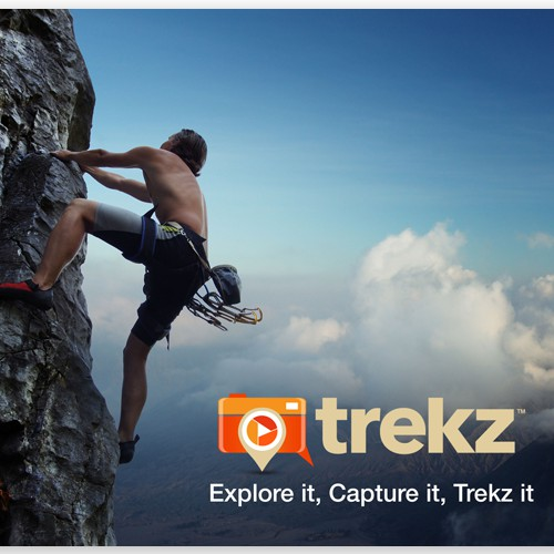 **Guaranteed $** Promo postcard for HOT new outdoor focused socialmedia app & website - TREKZ!