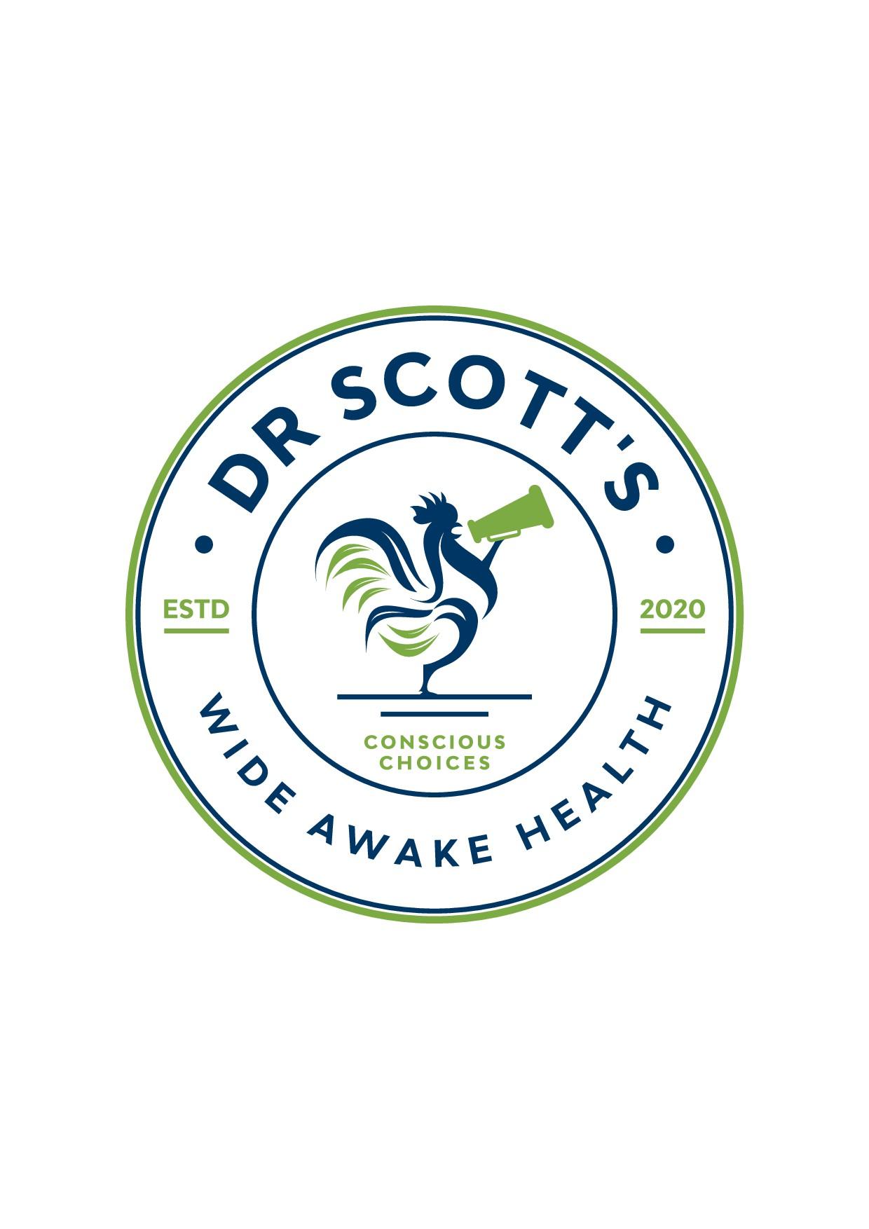 Dr Scott's Wide aAwake Health      logo