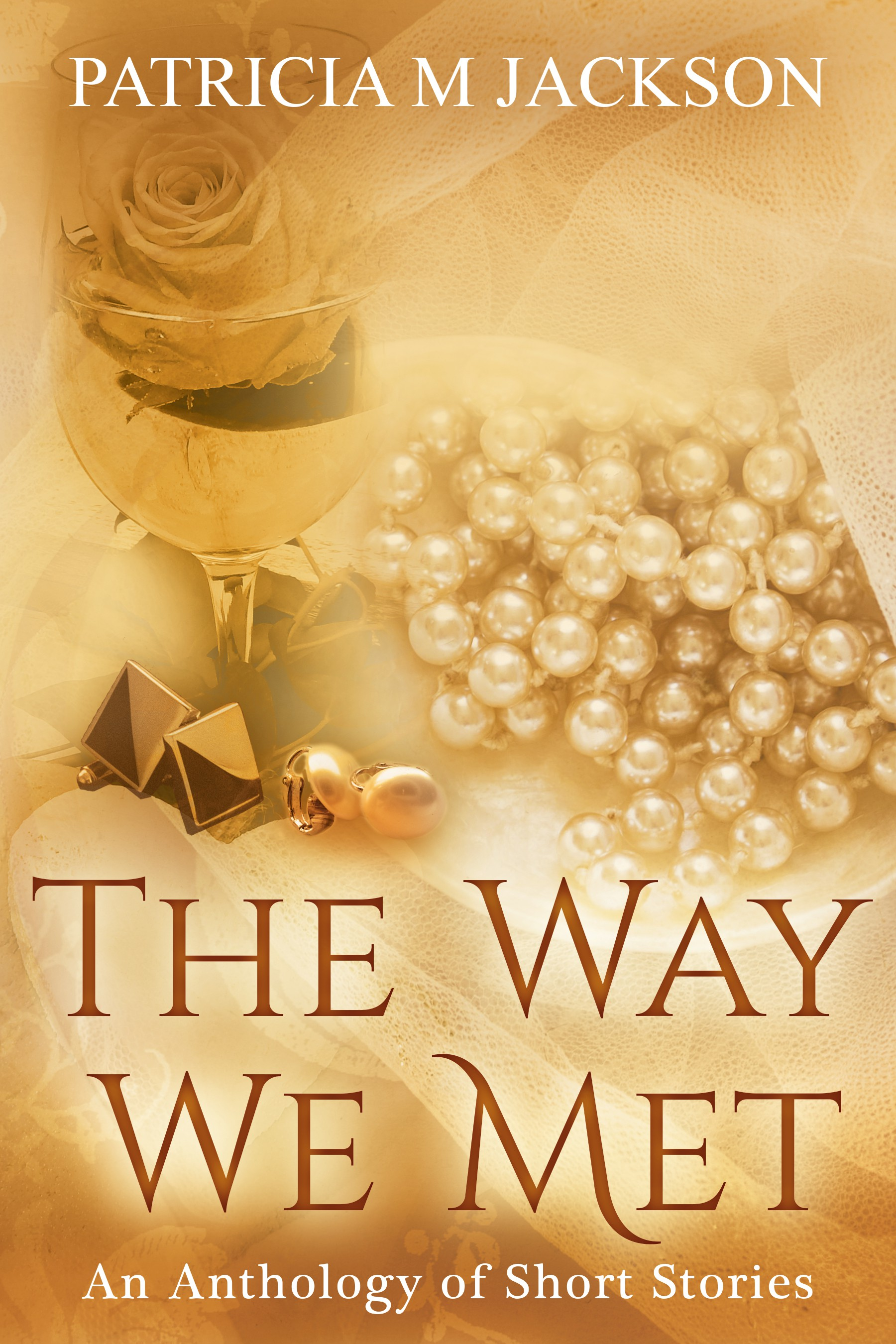 Cover for romance anthology: The Way We Met - stories of real couples
