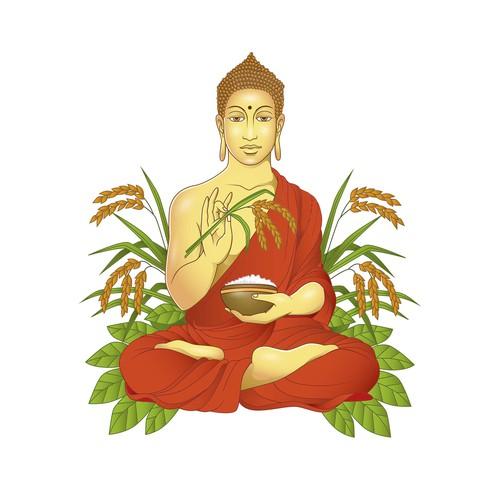 buddha rice