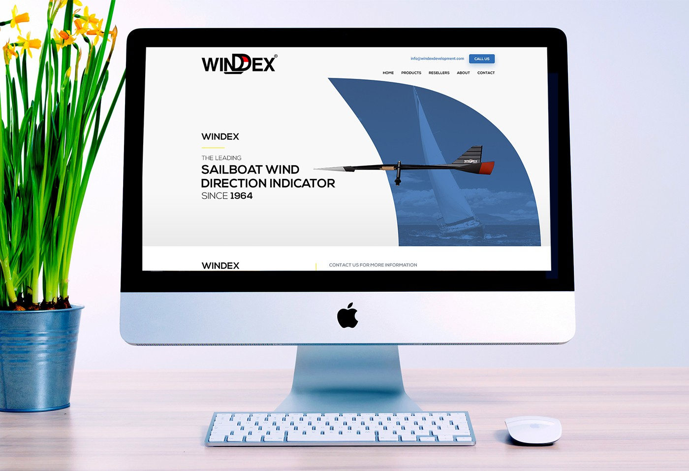 Windex: Design a  firstpage  based on brand guidlines