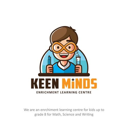 Keen Minds Logo