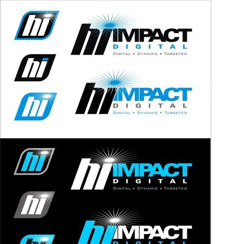 Hi Impact Digital Signage Company Logo