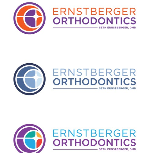 Logo design for Ernstberger Orthodontics