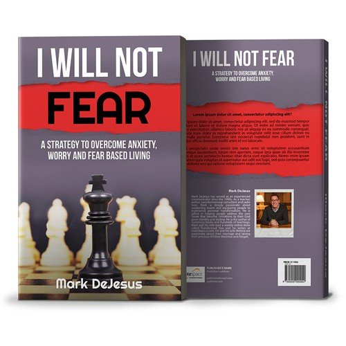 Book Cover Concept of I Will Not Fear