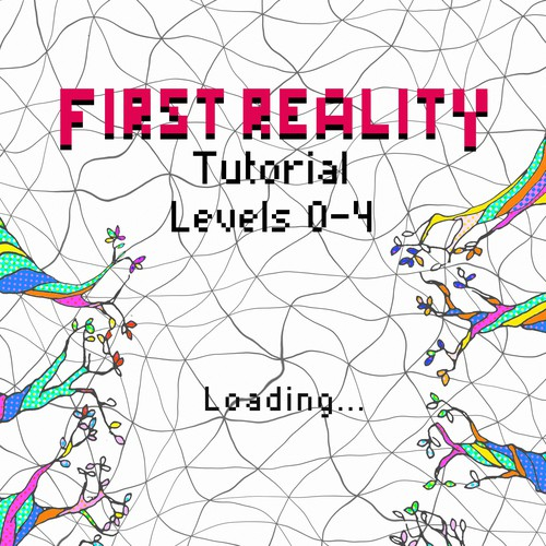 """Book cover for Ryan Starbloak - """"First Reality"""""""