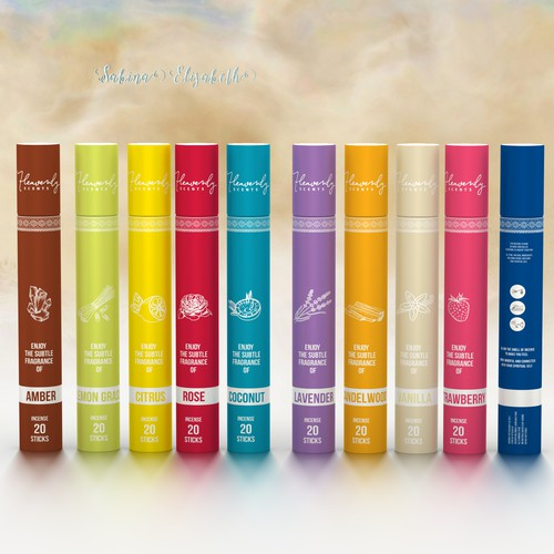Heavenly secrets - incense sticks gets a new design and logo