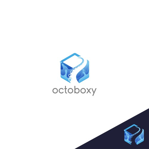 Logo concept for Octoboxy
