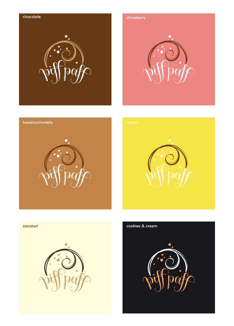 Create a cool logo for delicious dessert start-up. There's always room for dessert!