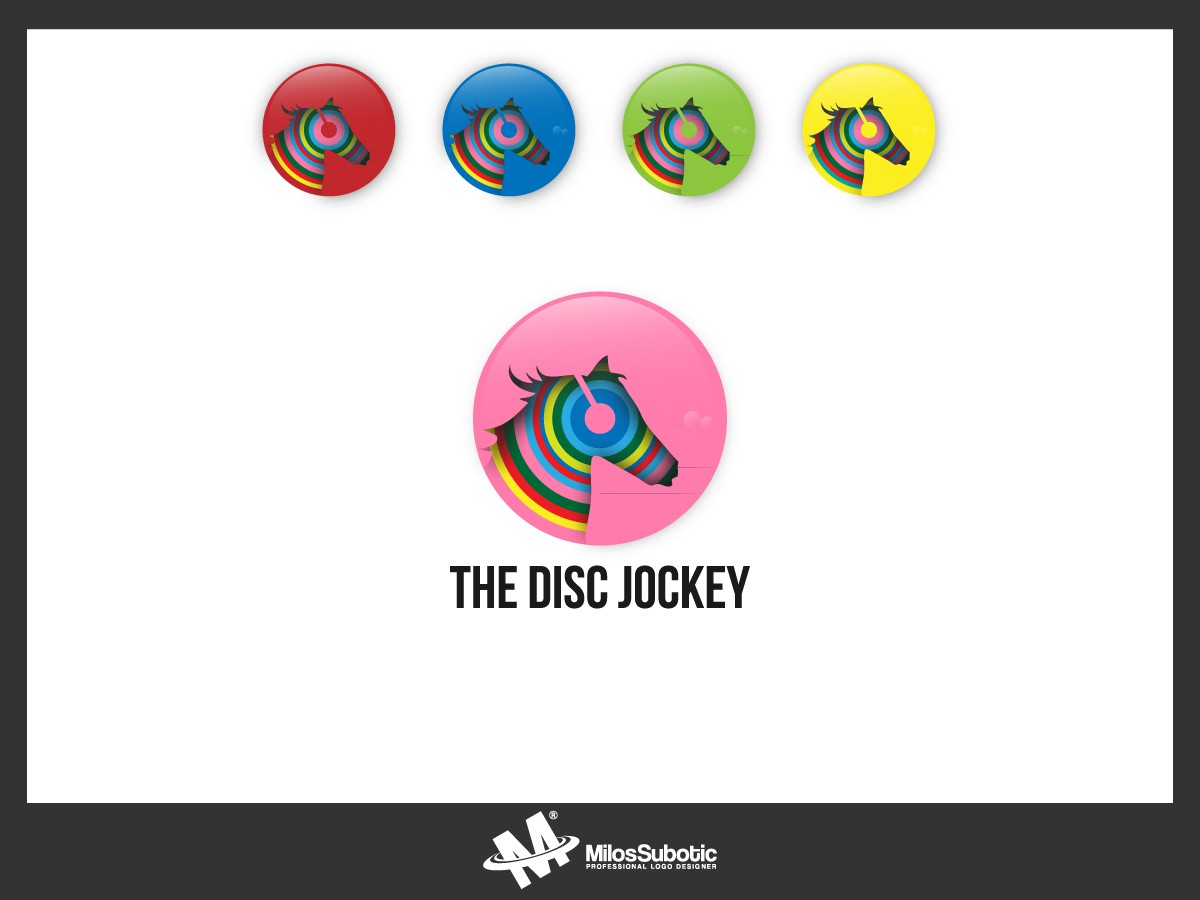 New logo wanted for The Disc Jockey
