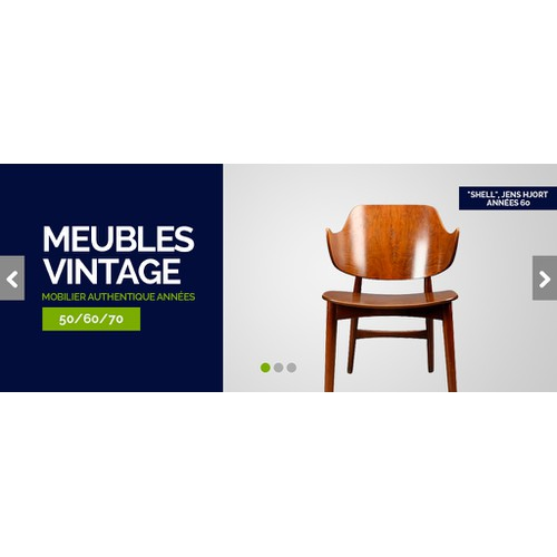 Design Vintage Furniture Banner