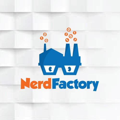Logo for Nerd Factory