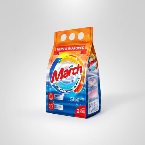 March detergent