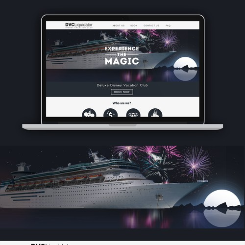 Disney Vacation Club Website Design