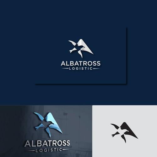 Albatross bird logo