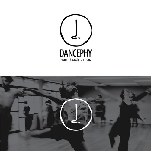 Logo concept for a online dance video platform.