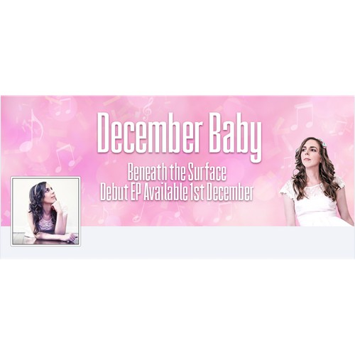 Facebook Cover for Pop Singer