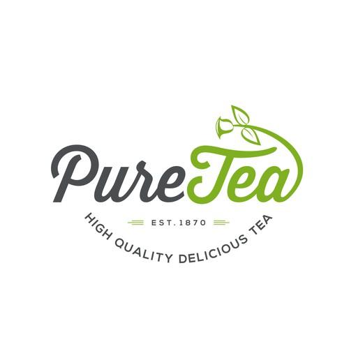 Logo for a delicious tea brand.