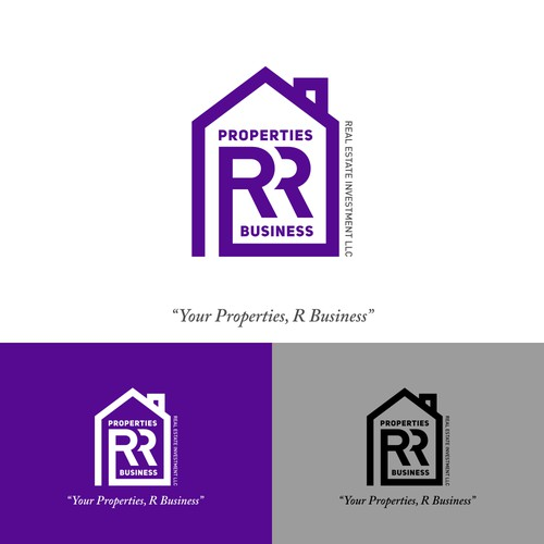Logo concept for Properties RR Business