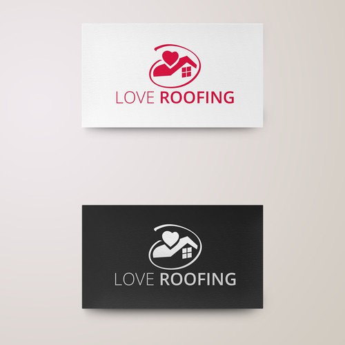 Love Roofing Logo