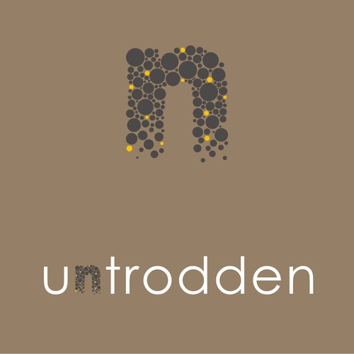 """Create a simple, inspiring logo for Untrodden—an online travel site for """"off-the-beaten-path"""" lodging"""