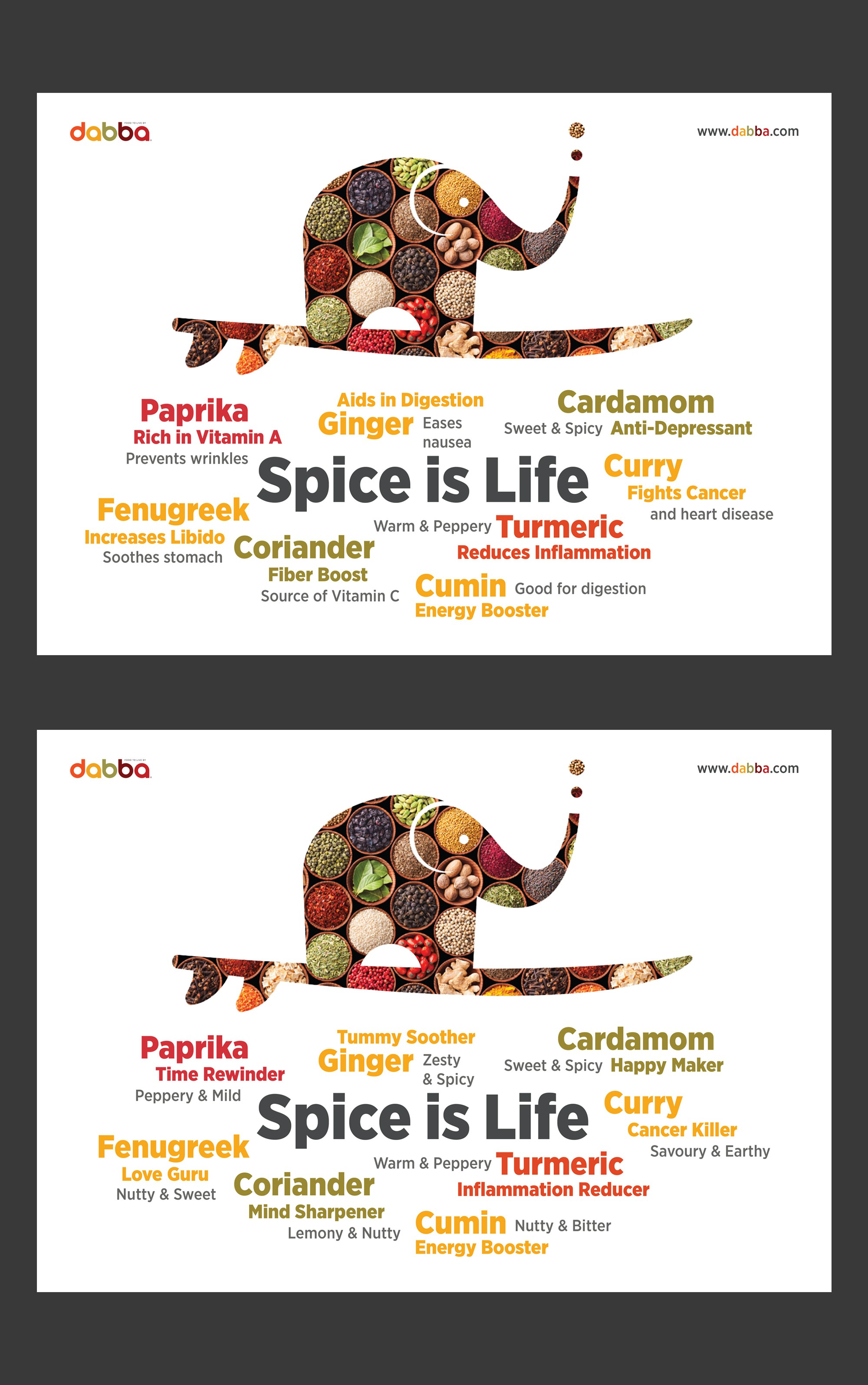 Dabba Spice is Life Poster