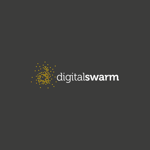 Digital Logo with dotted form