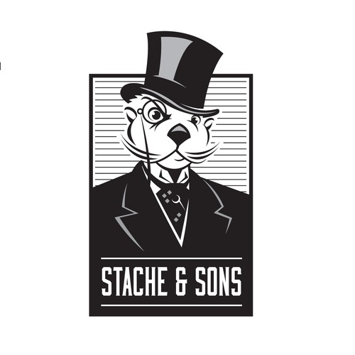 Logo for Stache & Sons