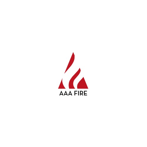Logo design for fire protection company