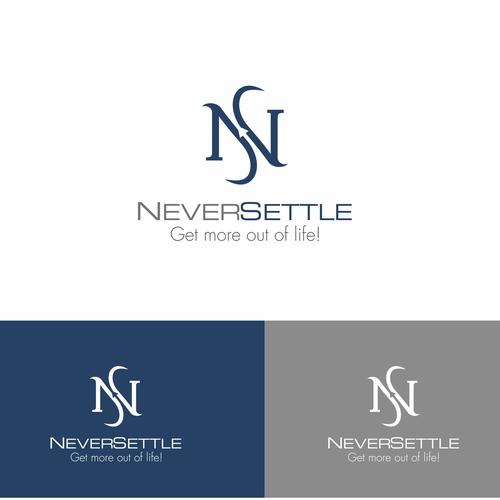 neversettle logo.