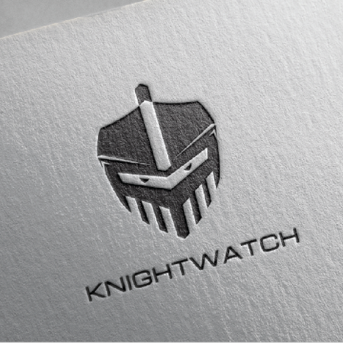 Create a badass logo/website for KnightWatch's luxury jewelry