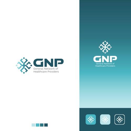 GNP logo design