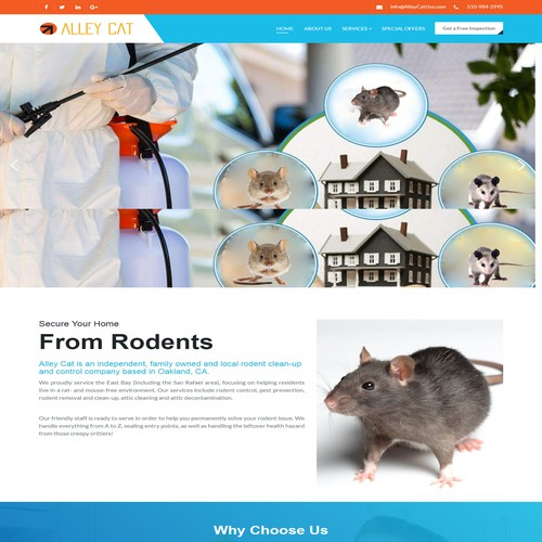 Design for Rodent Exclusion Company