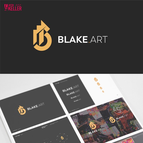 blake.art — Logo for Pop Portrait Artist