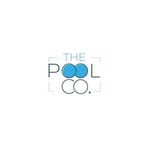 Logo for a company that build swimming pools