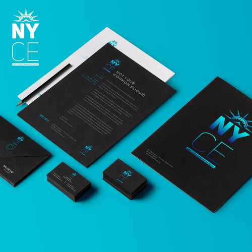 brand identity pack NYCE