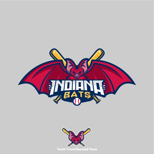 Logo Concept for Indiana Bats
