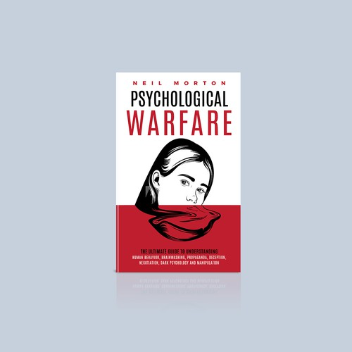 Book Cover design for Psychological warfare