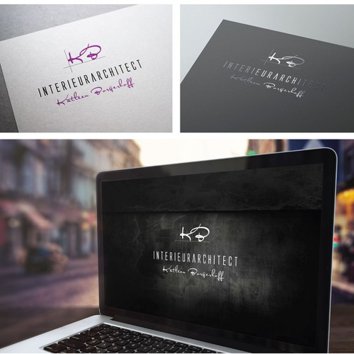 Interior designer searches creative logo