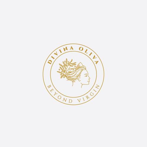 Divina Oliva Logo design