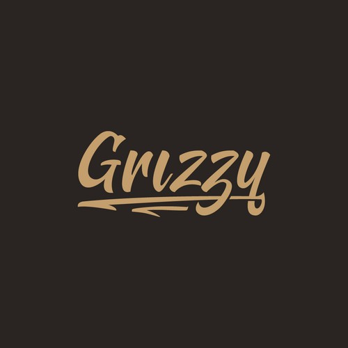 Grizzy Brush Hand Lettering