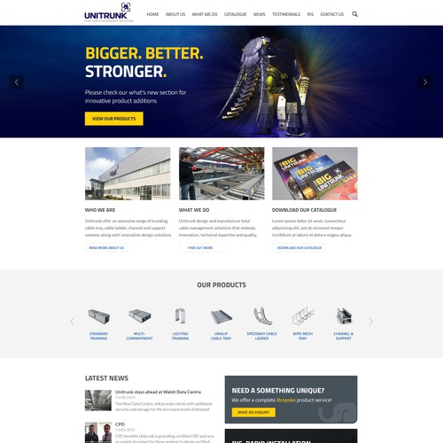 Website design