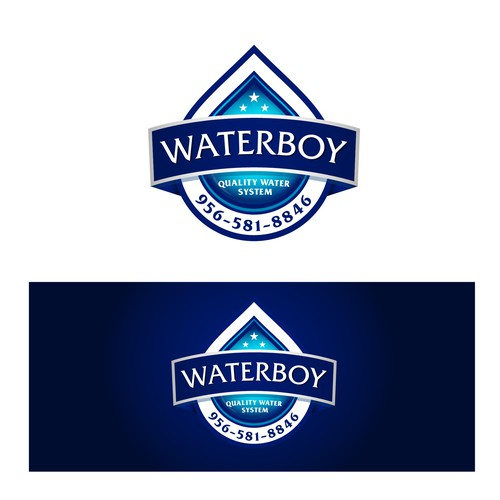 Logo upgrade for WATERBOY