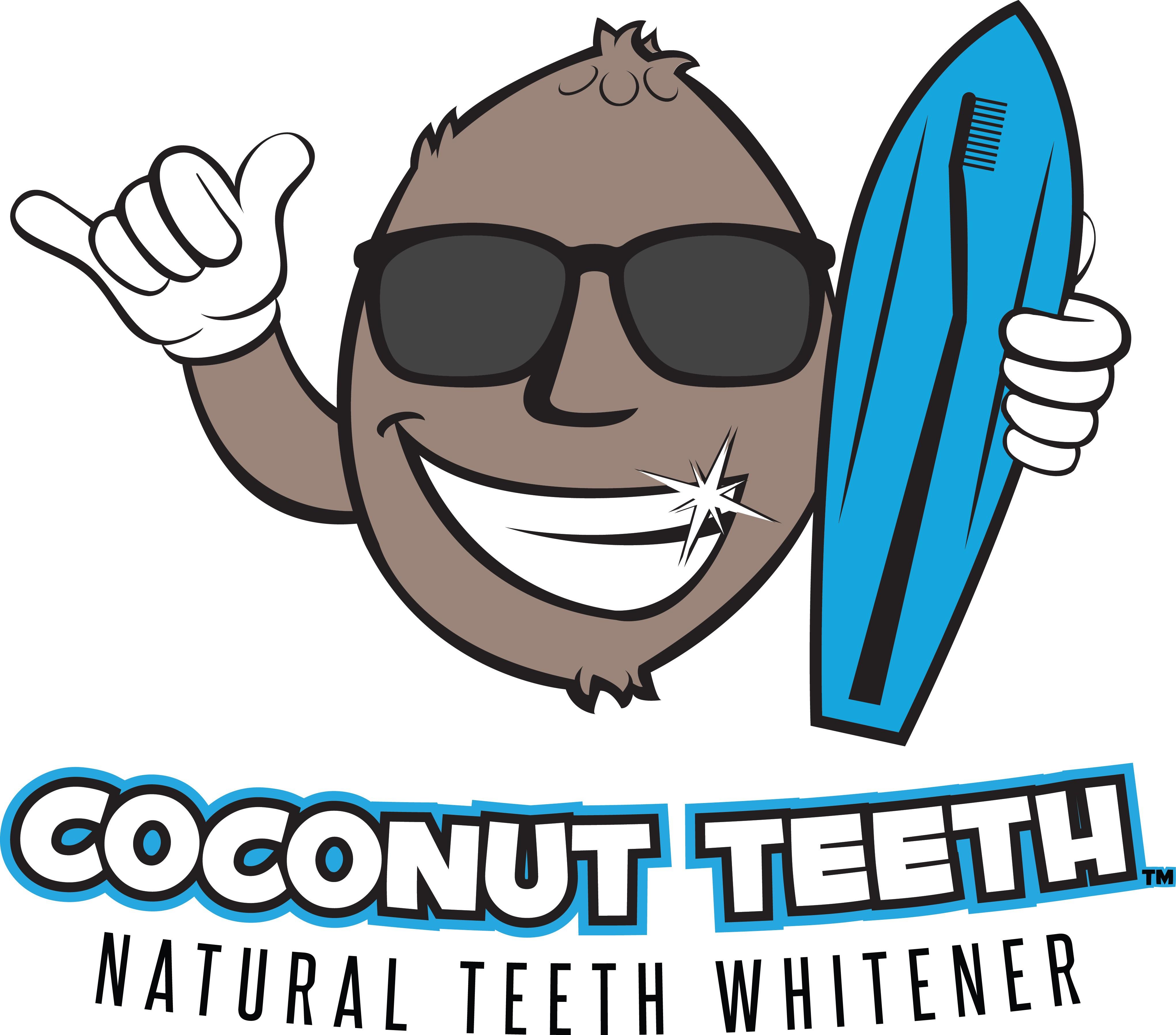 "Cool/ fun logo for ""Coconut Teeth- Natural Teeth Whitener"""